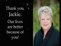 A Tribute to Jackie Saltz